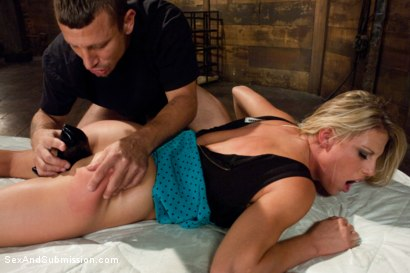 Photo number 3 from Mistreated: Charisma Cappelli Skull Fucked and Sexually Brutalized! shot for Sex And Submission on Kink.com. Featuring Charisma Cappelli and Mr. Pete in hardcore BDSM & Fetish porn.