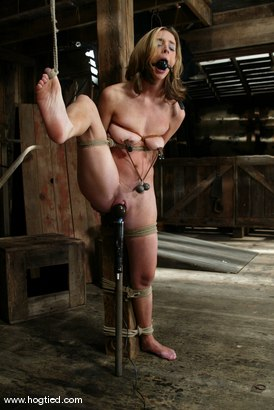 Photo number 6 from Kelly Wells shot for Hogtied on Kink.com. Featuring Kelly Wells in hardcore BDSM & Fetish porn.
