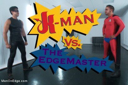 Photo number 1 from The World Premiere of KinkMan - Super Heroes Series shot for Men On Edge on Kink.com. Featuring Rob Blu in hardcore BDSM & Fetish porn.
