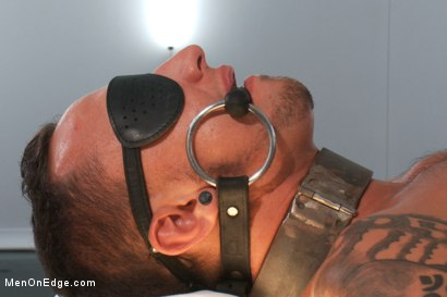 Photo number 12 from The World Premiere of KinkMan - Super Heroes Series shot for Men On Edge on Kink.com. Featuring Rob Blu in hardcore BDSM & Fetish porn.