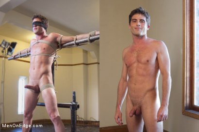 Photo number 15 from Straight Stud - Bondage, Balls Busting, Begging to Cum shot for Men On Edge on Kink.com. Featuring Lance Hart in hardcore BDSM & Fetish porn.