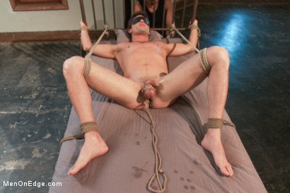 Photo number 10 from Straight Stud - Bondage, Balls Busting, Begging to Cum shot for Men On Edge on Kink.com. Featuring Lance Hart in hardcore BDSM & Fetish porn.