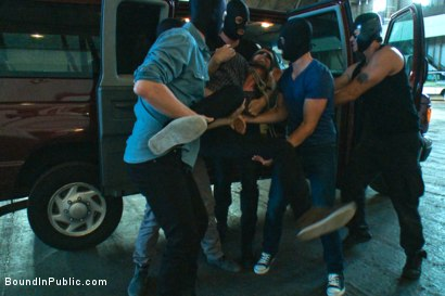 Photo number 1 from Captured stud is being used in a bar full of horny masked men shot for Bound in Public on Kink.com. Featuring Spencer Reed, Jake Steel and Cole Streets in hardcore BDSM & Fetish porn.