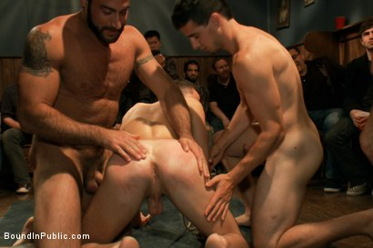 Photo number 12 from Jake Steel - beaten and thrown in an oily orgy. shot for Bound in Public on Kink.com. Featuring Spencer Reed, Jake Steel and Cole Streets in hardcore BDSM & Fetish porn.