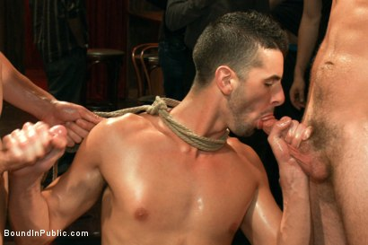 Photo number 5 from Jake Steel - beaten and thrown in an oily orgy. shot for Bound in Public on Kink.com. Featuring Spencer Reed, Jake Steel and Cole Streets in hardcore BDSM & Fetish porn.