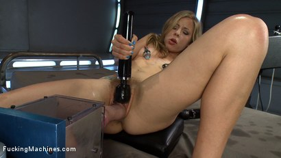 Photo number 14 from Double A, Huge Cocks, Fast Machines: Some Girls Were NOT Created Equal shot for Fucking Machines on Kink.com. Featuring Chastity Lynn in hardcore BDSM & Fetish porn.