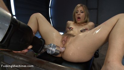 Photo number 12 from Double A, Huge Cocks, Fast Machines: Some Girls Were NOT Created Equal shot for Fucking Machines on Kink.com. Featuring Chastity Lynn in hardcore BDSM & Fetish porn.