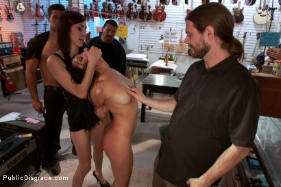 Photo number 6 from PERFECT TOY! Ass Fucking, Anal Fisting, Bondage, Squirting in Public!! shot for Public Disgrace on Kink.com. Featuring Ramon Nomar and Vicki Chase in hardcore BDSM & Fetish porn.