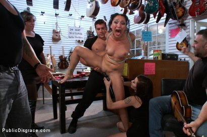 Photo number 11 from PERFECT TOY! Ass Fucking, Anal Fisting, Bondage, Squirting in Public!! shot for Public Disgrace on Kink.com. Featuring Ramon Nomar and Vicki Chase in hardcore BDSM & Fetish porn.
