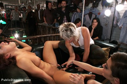 Photo number 13 from Perfect Body, Beautiful Face - First Time Public Sex and BDSM  shot for Public Disgrace on Kink.com. Featuring Mark Davis, Mischa Brooks and Princess Donna Dolore in hardcore BDSM & Fetish porn.