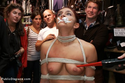 Photo number 3 from Perfect Body, Beautiful Face - First Time Public Sex and BDSM  shot for Public Disgrace on Kink.com. Featuring Mark Davis, Mischa Brooks and Princess Donna Dolore in hardcore BDSM & Fetish porn.