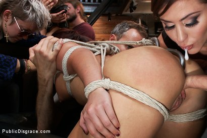 Photo number 7 from Perfect Body, Beautiful Face - First Time Public Sex and BDSM  shot for Public Disgrace on Kink.com. Featuring Mark Davis, Mischa Brooks and Princess Donna Dolore in hardcore BDSM & Fetish porn.