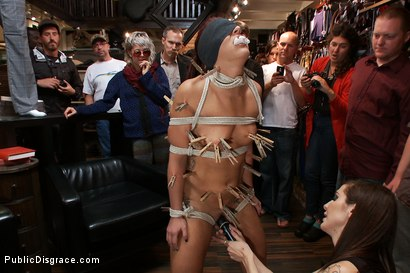 Photo number 1 from Perfect Body, Beautiful Face - First Time Public Sex and BDSM  shot for Public Disgrace on Kink.com. Featuring Mark Davis, Mischa Brooks and Princess Donna Dolore in hardcore BDSM & Fetish porn.