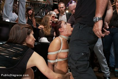 Photo number 6 from Perfect Body, Beautiful Face - First Time Public Sex and BDSM  shot for Public Disgrace on Kink.com. Featuring Mark Davis, Mischa Brooks and Princess Donna Dolore in hardcore BDSM & Fetish porn.