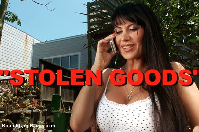 Photo number 1 from Stolen Goods - Featuring Eva Karera! The Sexiest MILF Alive!!! shot for Bound Gang Bangs on Kink.com. Featuring Prince Yahshua, Mickey Mod, Eva Karera, Bobby Bends, Jon Jon and Karlo Karrera in hardcore BDSM & Fetish porn.