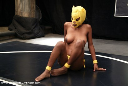 Photo number 2 from Yellow Kitty and Crimson Ninja shot for Ultimate Surrender on Kink.com. Featuring Yellow Kitty and Crimson Ninja in hardcore BDSM & Fetish porn.