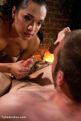Photo number 12 from One of the Top FIVE shoots on TsSeduction.com:Not for the Anally Faint shot for tsseduction on Kink.com. Featuring Jessica Fox and Jesse Carl in hardcore BDSM & Fetish porn.