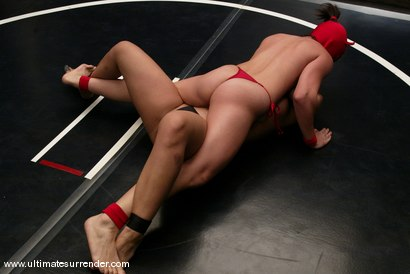 Photo number 3 from The Ninja (2-0) vs. the Dragon (4-1). shot for Ultimate Surrender on Kink.com. Featuring Crimson Ninja and DragonLily in hardcore BDSM & Fetish porn.