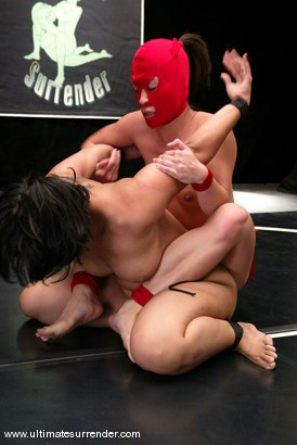 Photo number 5 from The Ninja (2-0) vs. the Dragon (4-1). shot for Ultimate Surrender on Kink.com. Featuring Crimson Ninja and DragonLily in hardcore BDSM & Fetish porn.