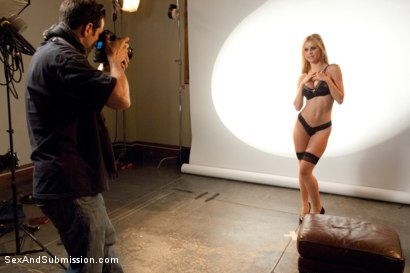 Photo number 1 from The Model: Jessie Rogers gets taken by her biggest fan! shot for Sex And Submission on Kink.com. Featuring Jessie Rogers and Mr. Pete in hardcore BDSM & Fetish porn.