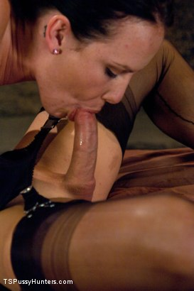 Photo number 9 from Joanna Jet Takes A Slave Girl shot for TS Pussy Hunters on Kink.com. Featuring Joanna Jet and Katie St. Ives in hardcore BDSM & Fetish porn.