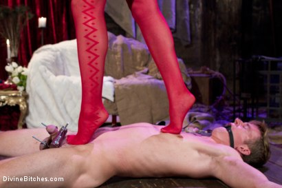 Photo number 4 from Starr Treatment shot for Divine Bitches on Kink.com. Featuring Bobbi Starr and Cole Brooks in hardcore BDSM & Fetish porn.
