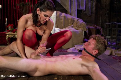 Photo number 10 from Starr Treatment shot for Divine Bitches on Kink.com. Featuring Bobbi Starr and Cole Brooks in hardcore BDSM & Fetish porn.