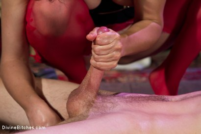 Photo number 12 from Starr Treatment shot for Divine Bitches on Kink.com. Featuring Bobbi Starr and Cole Brooks in hardcore BDSM & Fetish porn.