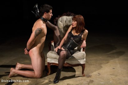 Photo number 3 from Maitresse Madeline returns with a vengeance! shot for Divine Bitches on Kink.com. Featuring Maitresse Madeline Marlowe and Tyler Alexander in hardcore BDSM & Fetish porn.