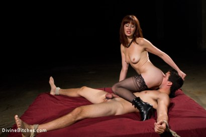 Photo number 6 from Maitresse Madeline returns with a vengeance! shot for Divine Bitches on Kink.com. Featuring Maitresse Madeline Marlowe and Tyler Alexander in hardcore BDSM & Fetish porn.