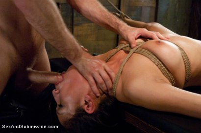 Photo number 14 from Vicki's Submission shot for Sex And Submission on Kink.com. Featuring James Deen and Vicki Chase in hardcore BDSM & Fetish porn.