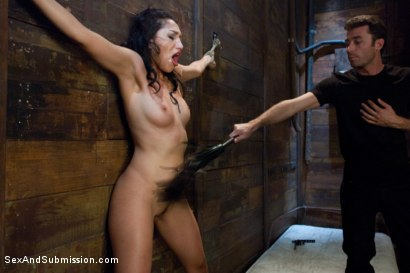 Photo number 3 from Vicki's Submission shot for Sex And Submission on Kink.com. Featuring James Deen and Vicki Chase in hardcore BDSM & Fetish porn.
