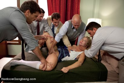 Photo number 2 from The Education of Chastity Lynn - Lesbian Reform Skool! shot for Hardcore Gangbang on Kink.com. Featuring Ramon Nomar, Mark Davis, Toni Ribas, John Strong, Chastity Lynn and Talon in hardcore BDSM & Fetish porn.