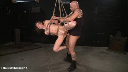 Photo number 8 from Sweet Delilah shot for Fucked and Bound on Kink.com. Featuring Derrick Pierce and Delilah Knight in hardcore BDSM & Fetish porn.