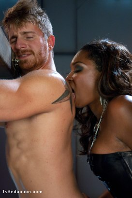 Photo number 2 from Introducing Hung Jayla Marie in a Series Installment of The Wives Club shot for TS Seduction on Kink.com. Featuring Jayla Marie and Logan Vaughn in hardcore BDSM & Fetish porn.