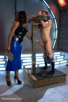 Photo number 3 from Introducing Hung Jayla Marie in a Series Installment of The Wives Club shot for TS Seduction on Kink.com. Featuring Jayla Marie and Logan Vaughn in hardcore BDSM & Fetish porn.