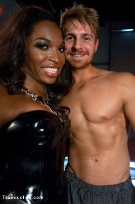 Photo number 15 from Introducing Hung Jayla Marie in a Series Installment of The Wives Club shot for TS Seduction on Kink.com. Featuring Jayla Marie and Logan Vaughn in hardcore BDSM & Fetish porn.