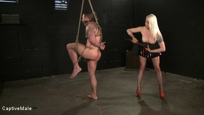Photo number 3 from One Tough Guy shot for Captive Male on Kink.com. Featuring Lorelei Lee and Daac Ramsey in hardcore BDSM & Fetish porn.