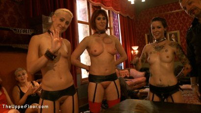 Photo number 14 from Stefanos' Brunch shot for The Upper Floor on Kink.com. Featuring Odile, Dylan Ryan and Krysta Kaos in hardcore BDSM & Fetish porn.