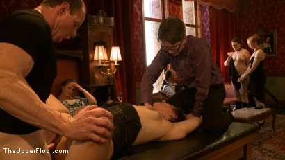 Photo number 15 from Stefanos' Brunch shot for The Upper Floor on Kink.com. Featuring Odile, Dylan Ryan and Krysta Kaos in hardcore BDSM & Fetish porn.