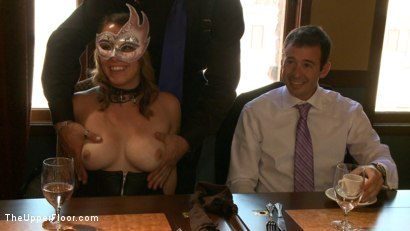 Photo number 2 from Stefanos' Brunch shot for The Upper Floor on Kink.com. Featuring Odile, Dylan Ryan and Krysta Kaos in hardcore BDSM & Fetish porn.