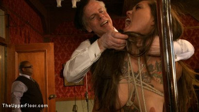 Photo number 3 from Stefanos' Brunch shot for The Upper Floor on Kink.com. Featuring Odile, Dylan Ryan and Krysta Kaos in hardcore BDSM & Fetish porn.