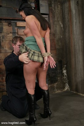 Photo number 2 from Ice La Fox shot for Hogtied on Kink.com. Featuring Ice La Fox in hardcore BDSM & Fetish porn.