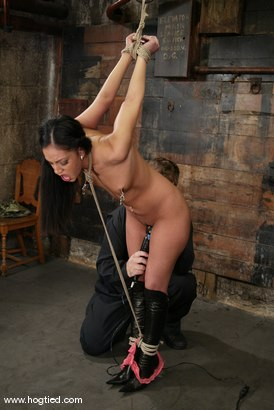 Photo number 3 from Ice La Fox shot for Hogtied on Kink.com. Featuring Ice La Fox in hardcore BDSM & Fetish porn.