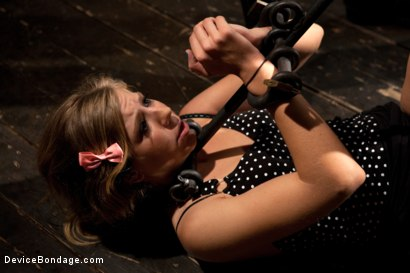 Photo number 9 from Chastity Lynn - Cum Begging Cunt - Live Show Part 1 shot for Device Bondage on Kink.com. Featuring Chastity Lynn in hardcore BDSM & Fetish porn.