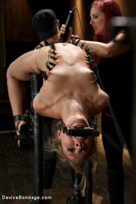 Photo number 12 from Chastity Lynn - Cum Begging Cunt - Live Show Part 3 shot for Device Bondage on Kink.com. Featuring Chastity Lynn in hardcore BDSM & Fetish porn.
