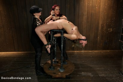 Photo number 13 from Chastity Lynn - Cum Begging Cunt - Live Show Part 3 shot for Device Bondage on Kink.com. Featuring Chastity Lynn in hardcore BDSM & Fetish porn.