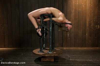 Photo number 14 from Chastity Lynn - Cum Begging Cunt - Live Show Part 3 shot for Device Bondage on Kink.com. Featuring Chastity Lynn in hardcore BDSM & Fetish porn.