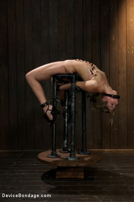 Photo number 3 from Chastity Lynn - Cum Begging Cunt - Live Show Part 3 shot for Device Bondage on Kink.com. Featuring Chastity Lynn in hardcore BDSM & Fetish porn.