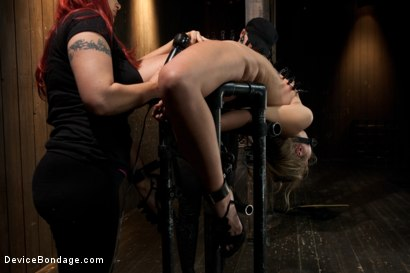 Photo number 5 from Chastity Lynn - Cum Begging Cunt - Live Show Part 3 shot for Device Bondage on Kink.com. Featuring Chastity Lynn in hardcore BDSM & Fetish porn.